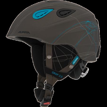 Купить Зимний Шлем Alpina 2015-16 ALL MOUNTAIN GRAP 2.0 grey matt, Шлемы для горных лыж/сноубордов, 1193960