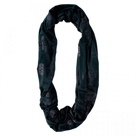 Купить Шарф BUFF URBAN Star Wars SPACESHIP BLACK Банданы и шарфы Buff ® 879670