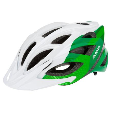 Купить Летний шлем Alpina TOUR Skid 2.0 white-green, Шлемы велосипедные, 1180011