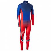 Комплект беговой Bjorn Daehlie RACESUITS Racesuit DEFENDER 2 - PIECE Blue/Red Fading (Синий/красный)