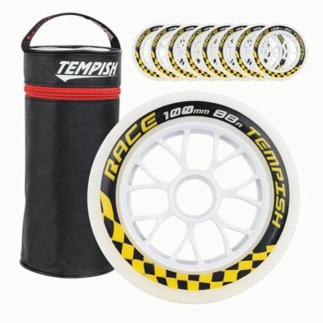 Купить Колеса TEMPISH 2017 RACE 100x24mm 85A (8pcs), Аксессуары для роликов, 1329259
