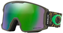 Очки горнолыжные Oakley 2018-19 Line miner Camo Vine Jungle/Prizm Snow Jade Iridium