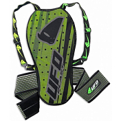 Защита спины NIDECKER 2019-20 Kombat back support with body belt      ( > mt. 1,75) green