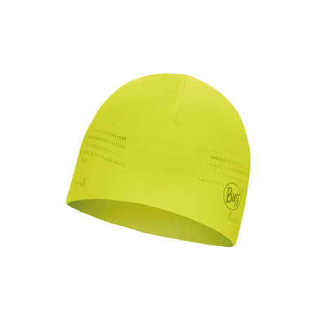 Шапка Buff MICROFIBER REVERSIBLE HAT R-SOLID YELLOW FLUOR
