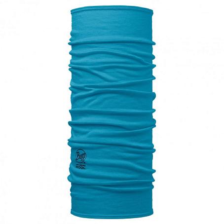 Купить Шарф BUFF Wool Plain MERINO WOOL SOLID BLUE CAPRI Банданы и шарфы Buff ® 1263368