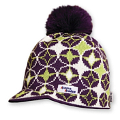ШапкаГоловные уборы<br>Удобная шапка с большим помпоном.<br>Материал: 50% шерсть мериноса, 50% полиакрил.<br>Размер: 54-62 см.