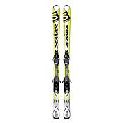 Горные Лыжи с Креплениями Salomon 2016-17 Ski Set E X-max Jr M + E Ezy7 B80