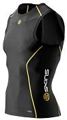 Майка беговая SKINS 2015 A200 Mens Top Sleeveless Black/Yellow