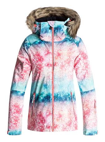 Купить Куртка сноубордическая ROXY 2017-18 JET SKI GIRL G SNJT NKN8 NEON GRAPEFRUIT_SOLARGRADIENT, Одежда сноубордическая, 1354409