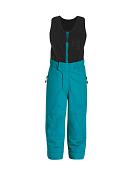 Брюки горнолыжныеОдежда детская<br>Детские лыжные брюки-комбинезон с флисовой жилеткой. В отличии от идентичной модели KIM REG, использован более износоустойчивый материал.<br> Два боковых кармана на молнии.