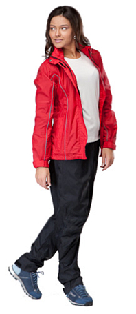 Куртка для активного отдыха MAIER 2012 Womens Rain Jacket mTEX FIRE красный