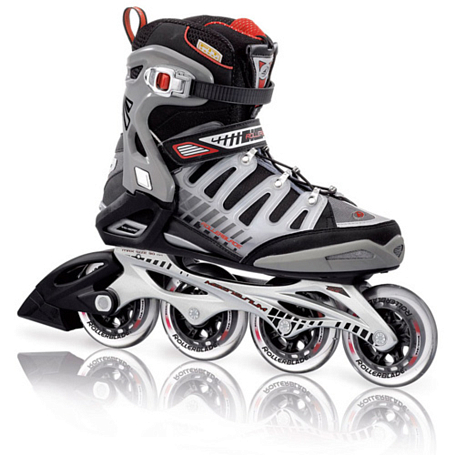 Роликовые коньки Rollerblade 2012 CROSSFIRE 90 BLACK/RED