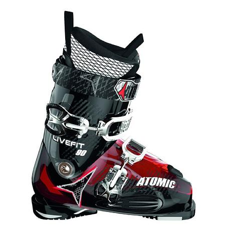 Купить Горнолыжные ботинки ATOMIC 2013-14 Live Fit 90 TRANSPARENT RED Ботинки горнoлыжные 902578