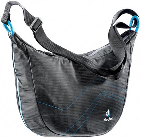 Купить Сумка на плечо Deuter 2015 Shoulder bags Pannier Sling black-turquoise Сумки для города 1073407