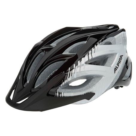 Купить Летний шлем Alpina TOUR Skid 2.0 black-silver-white, Шлемы велосипедные, 1180015