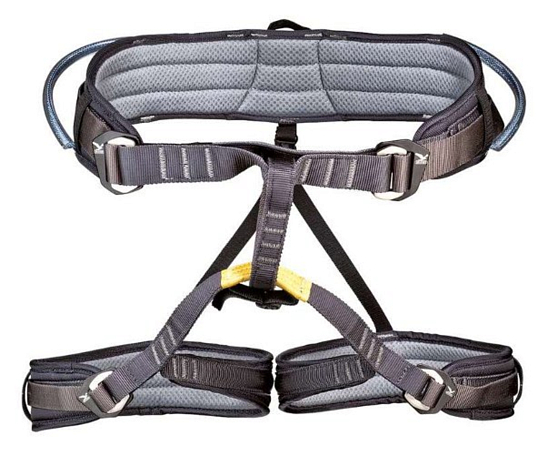 Обвязка Salewa Harnesses TOUR DUO HARNESS  L-XL (2) ANTHRACITE/BLUE/YELLOW