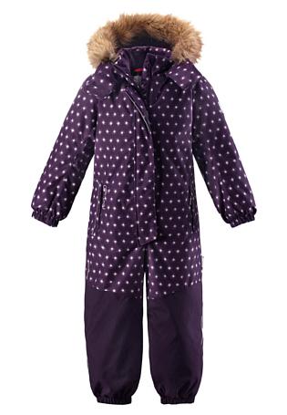 Купить Комбинезон горнолыжный Reima 2017-18 Oulu Deep violet, Детская одежда, 1351644