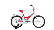 Велосипед Altair City Boy 18 2017 Белый/красный
