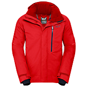Куртка горнолыжная Jack Wolfskin 2018-19 EXOLIGHT ICY JACKET MEN fiery red