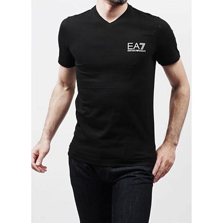 Купить Футболка для активного отдыха EA7 Emporio Armani 2015 273774/5P206 NERO / чёрный Одежда туристическая 1181232