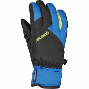 Перчатки горныеПерчатки, варежки<br>Яркие стильные перчатки с эластичным регулируемым манжетом; ладошка и пальцы усилены качественной экокожей; мембрана&amp;nbsp;&amp;nbsp;R-TEX®, тепловой стандарт THERMO 3™