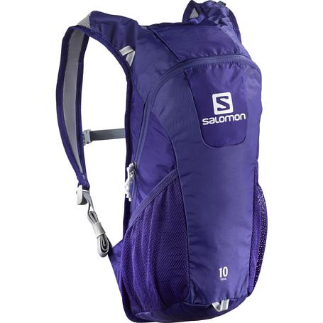 Купить Рюкзак SALOMON 2017 TRAIL 10 BRIGHT фиолетовый, Рюкзаки универсальные, 1326799