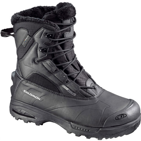 Купить Ботинки городские (высокие) SALOMON 2013-14 Backpacking / Hiking & Winter TOUNDRA mid WP M BLACK/BLACK/BLA Обувь для города 1015516