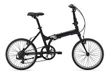 ВелосипедСкладные велосипеды<br>Уровень: Любительский, Начальный<br>Пол: Унисекс<br>Назначение: Дорожный<br>Материал рамы: Алюминий<br>Рама: ALUXX aluminium, Алюминиевый сплав<br>Тип рамы: Складная<br>Вилка: Высокопрочная сталь Cro-Mo<br>Руль: Алюминиевый сплав, с изгибом, 28.6<br>Вынос: Алюминиевый сплав, регулируемый<br>Подседельный штырь: Алюминиевый сплав, 30.9<br>Седло: Giant Comfort<br>Педали: Folding<br>Кол-во скоростей: 7<br>Шифтеры/Манетки: Shimano Tourney, SL-RS43 Twist<br>Задний переключатель: Shimano Tourney, RD-FT30<br>Тип тормозов: Ободные &amp;#40;V-Brake&amp;#41;<br>Тормоза: Direct Pull<br>Тормозные ручки: Алюминиевый сплав<br>Кассета: Shimano MF-TZ21 14-28, 7s<br>Система/Шатуны: Алюминиевый шатун, 52T Chainring<br>Цепь: KMC Z51, 7s<br>Размер колес: 20<br>Обода: алюминиевый сплав<br>Втулки: Алюминиевый сплав<br>Спицы: SUS 14G<br>Покрышки: Kenda Kwest, 20x1.5