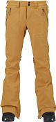 Брюки сноубордическиеОдежда сноубордическая<br>Тонкие и очень узкие штаны для настоящих модниц. Стильные карманы и фурнитура дополняют картину.Мембрана: 10000 на 10000, проклеенные швы, вентиляция.