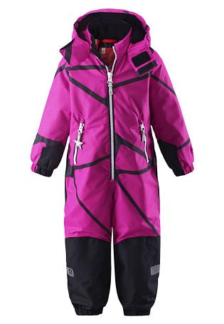 Купить Комбинезон горнолыжный Reima 2016-17 KIDDO JUONET РОЗОВЫЙ Детская одежда 1279312