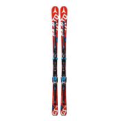 Горные лыжи с креплениямиГорные лыжи<br>Реактивная машина для любителей скорости и точного ведения лыж - слалом-гигант: скорость, мощное виброгашение и широчайший динамический диапазон благодаря двум декам.<br><br>Геометрия: 113,5-70-97.<br>Ширина талии: 70 мм. <br>Уровень катания: 8-10.<br>Трасса: 90/10.<br>Описание конструкции: Прогиб Piste Rocker, сердечник D2 Race Doubledeck/Shokilla, сердечник D2 Powercore Cap, интерфейс Neox Toolless.<br>Размер(ростовка): 164, 169, 174, 179, 184 см.<br>Радиус бокового выреза: 17,2 м (169 см).<br><br>Пол: Унисекс<br>Возраст: Взрослый