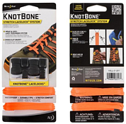 Шнурки Nite Ize Knotbone Stretch Lacelock System Оранж