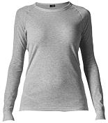 Комплект (футболка дл.рук. + брюки) MAIER 2015-16 Underwear 998280 silver melange / серый