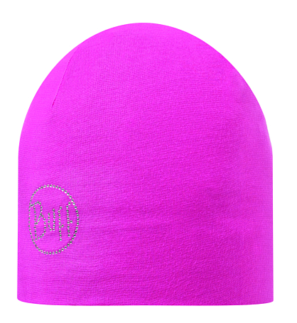 Купить Шапка BUFF MICROFIBER 2 LAYERS HAT SOLID CHIC MAGENTA Банданы и шарфы Buff ® 1169211