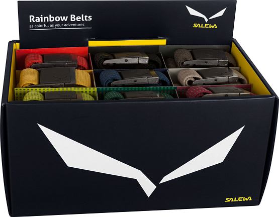 Ремни Salewa 2015 ALPINE BELT RAINBOW 2.0 BELT BOX s15 /