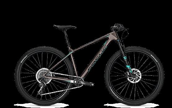 Купить Велосипед FOCUS RAVEN MAX SL 12G 2018 titan/aquabluem Горные велосипеды 1382764