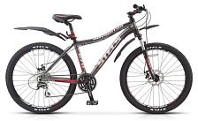 ВелосипедКолеса 26 (стандарт)<br>Горный велосипед Stels Navigator 670 MD 2016. Велосипед оснащён алюминиевой рамой. Установлены пружинно-эластомерная вилка SR SUNTOUR XCT, ход 80мм, дисковые механические тормоза, а также полупрофессиональное оборудование. Stels Navigator 670 MD 2016 прекрасно подойдёт для катания как в городе, так и по пересечённой местности.<br> <br> Рама и амортизаторы<br> <br> Рама: алюминий<br> Вилка: SR SUNTOUR XCT, ход 80мм<br> <br> Цепная передача<br> <br> Манетки: SHIMANO Altus, ST-EF51<br> Передний переключатель: SHIMANO Altus, FD-M190<br> Задний переключатель: SHIMANO Acera, RD-M360<br> Каретка: VP, картридж<br> Количество скоростей: 21<br> Педали: пластик<br> <br> Колеса<br> <br> Обода: WEINMANN, алюминий двойные<br> Bтулка: KT, алюминий<br> Покрышка: CHAO YANG, 26x2.1<br> <br> Компоненты<br> <br> Передний тормоз: TEKTRO NOVELA, механический дисковый, ротор 160мм<br> Задний тормоз: TEKTRO NOVELA, механический дисковый, ротор 160мм<br> Рулевая колонка: RITCHEY, сталь<br> Седло: Cionlli<br><br>Пол: Унисекс<br>Возраст: Взрослый