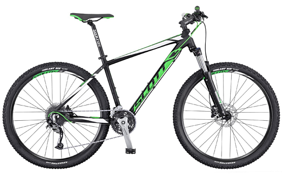 Велосипед Scott ASPECT 740 2016 black/green/white