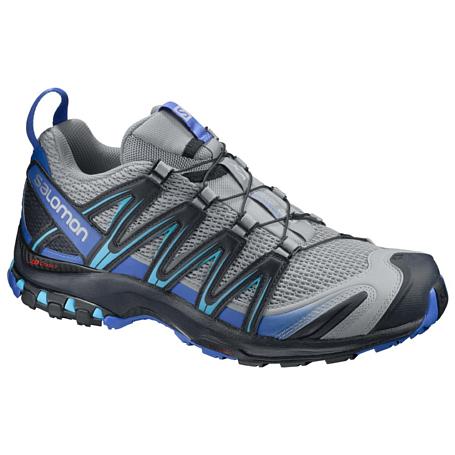 Купить Беговые кроссовки для XC SALOMON 2017 SHOES XA PRO 3D Quarry/Nautical B/Hawaii Кроссовки бега 1326663