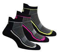 Носки Polaris COOLMAX SOCKS, 3 pack черный/розовый/желтый