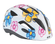 Шлем BBB helmet Amigo with insect net and dial Flowers white S (BHE-47)
