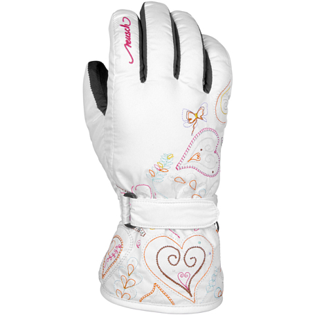 Перчатки горные REUSCH 2014-15 JUNIOR GIRLS Penny R-TEX XT Junior white new