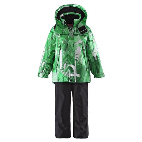 Купить Костюм горнолыжный Reima 2015-16 Gale teal blue Детская одежда 1197333