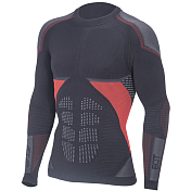 Футболка Accapi 2020-21 Synergy Long Sl. Black/Red