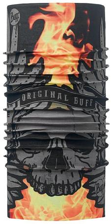 Купить Бандана BUFF Original Buff SULFUR BLACK-BLACK-Standard Банданы и шарфы ® 1227817