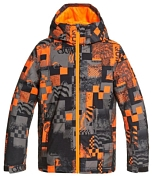 Куртка сноубордическая Quiksilver 2020-21 Morton youth Shocking orange radpack