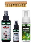 Набор для ухода за обувью Sibearian 2020-21 Protect & Clean Combo (Protect 150 + Nano 50 + Herbal)