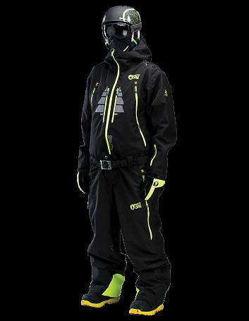 Купить Комбинезон сноубордический Picture Organic 2015-16 BUZZ 2 Black Одежда сноубордическая 1219575