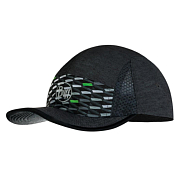 Кепка Buff Run Cap R-Geotrik Black
