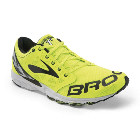 Марафонки BROOKS T7 Racer Black/Speed Green/Silver